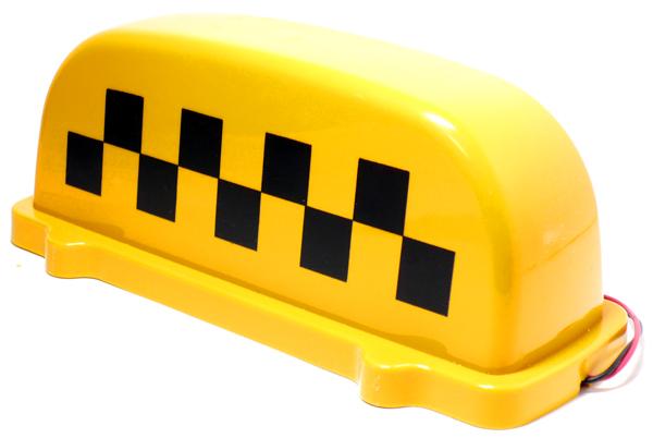 шашки такси на крышу